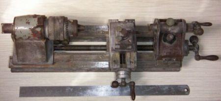 Часовой токарный станок своими руками